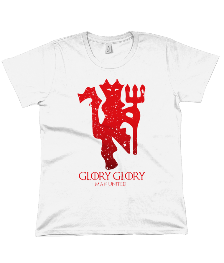 House Man United Women's Flowy Tee