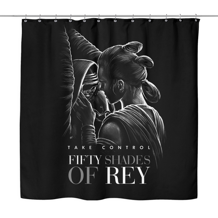 Star Wars Fifty Shades of Rey Shower Curtain