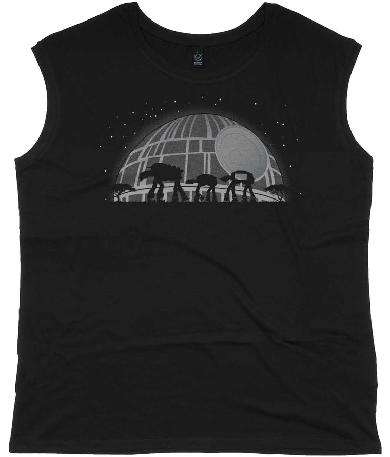 Star Wars AT-RICA Women's Capped Sleeve Tee