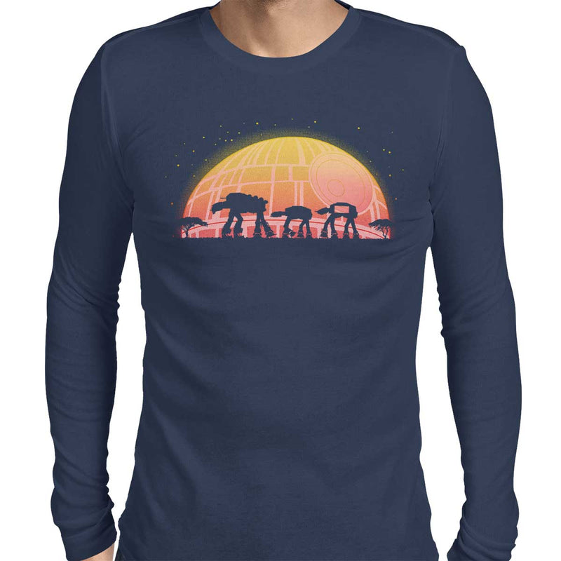 Star Wars AT-RICA Men's Long Sleeve Tee