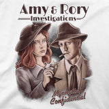 doctor who t-shirt amy & rory
