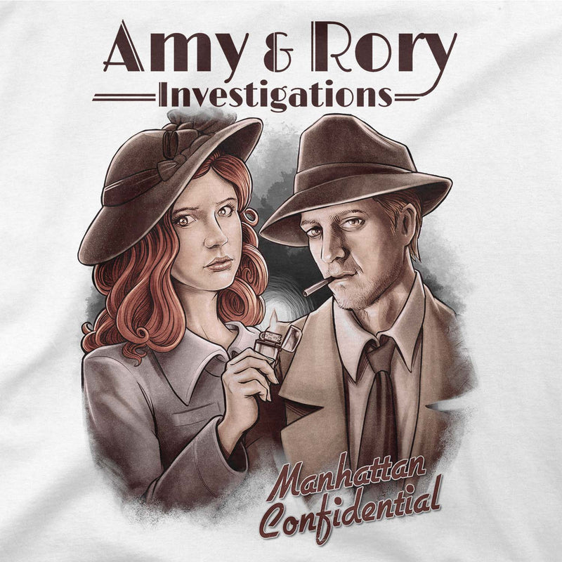 Doctor Who Amy & Rory P.I T-shirt
