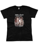 doctor who tees amy and rory women's black