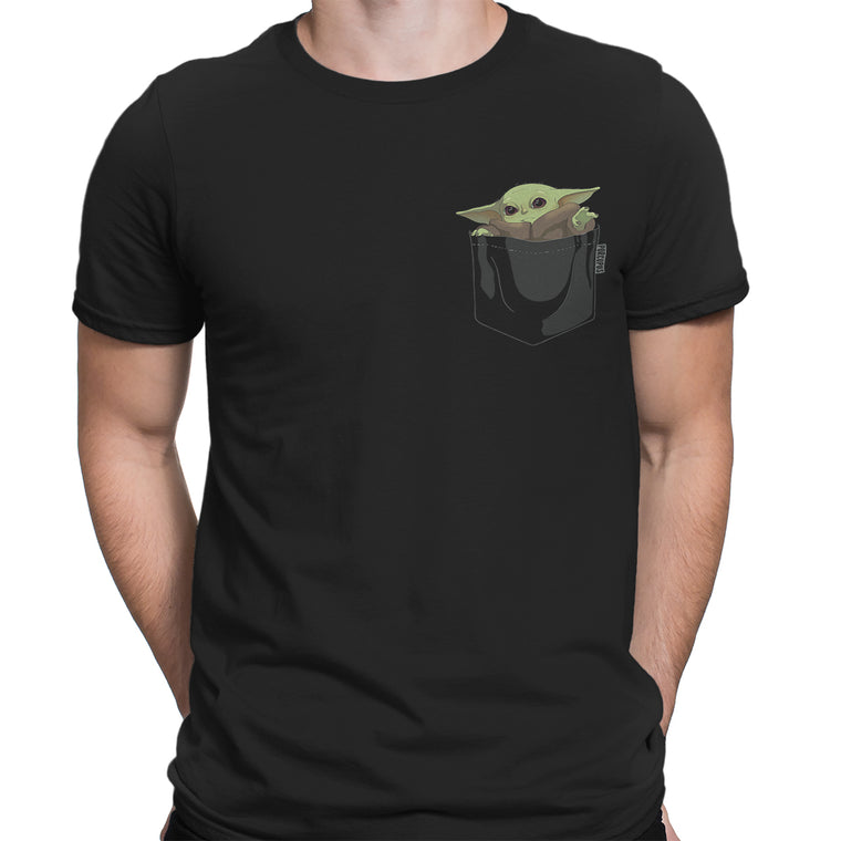 Grogu aka Baby Yoda In My Pocket Men's Classic Tee