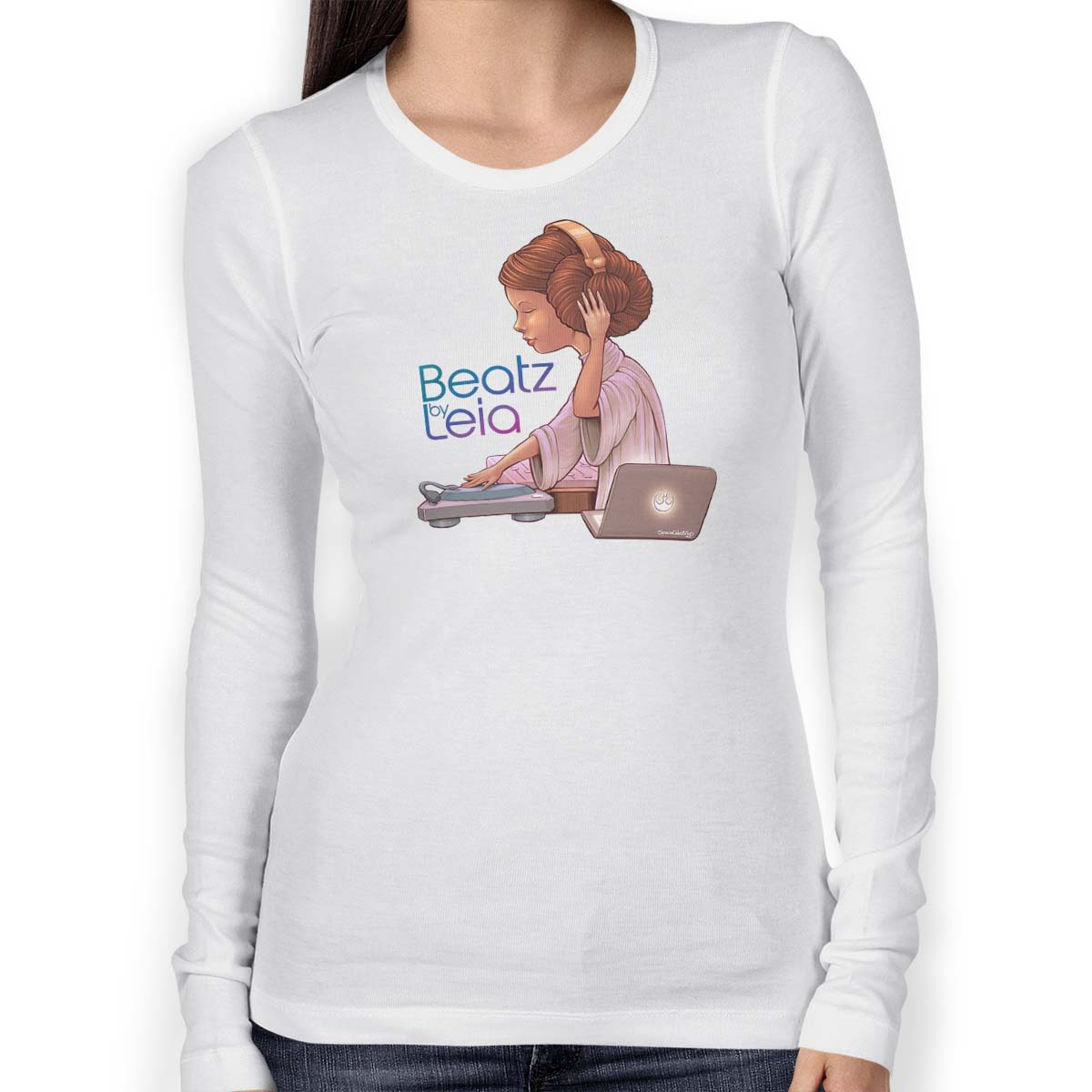 Star Wars Beatz By Leia T-shirt