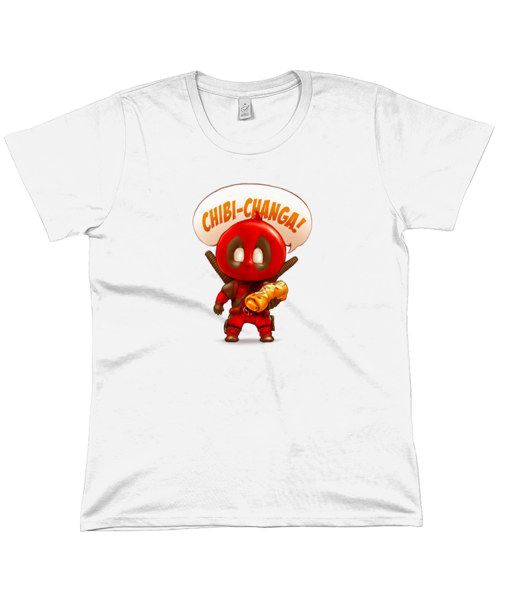 Marvel: Chibi-Changa Deadpool Women's Flowy Tee