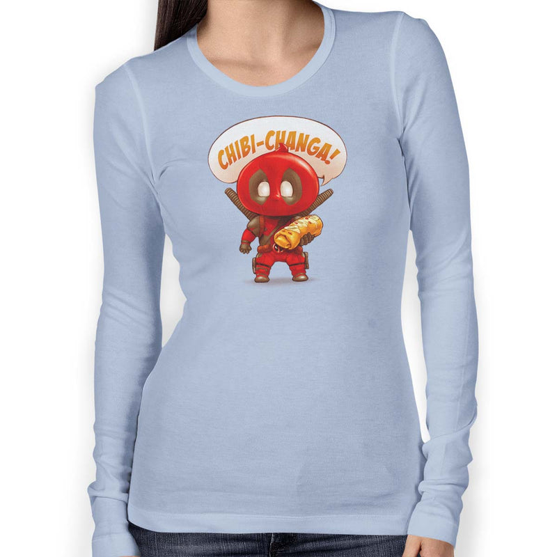Chibi-Changa Women's Long Sleeve Tee