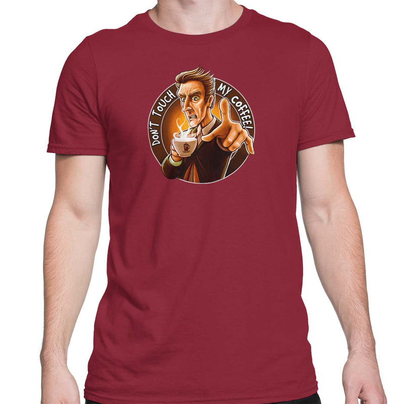 Doctor Who Don't Touch My Coffee Men's Classic Tee