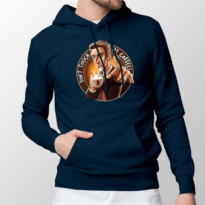 Doctor Who T-Shirt Don't Touch My Coffee Hoodie