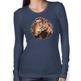 Doctor Who Don't Touch My Coffee Women's Long Sleeve Tee