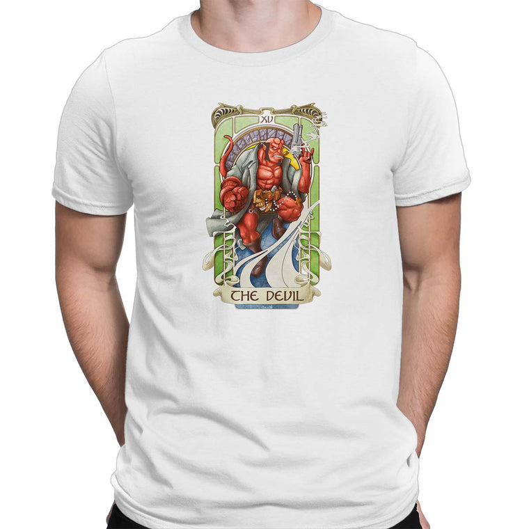 The Devil Tarot Men's Classic Tee