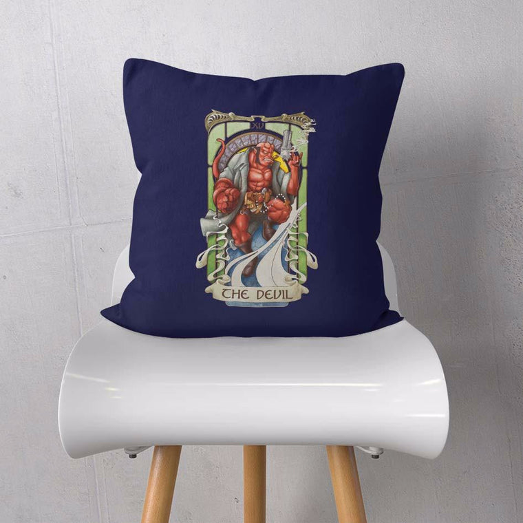 The Devil Tarot Cushion