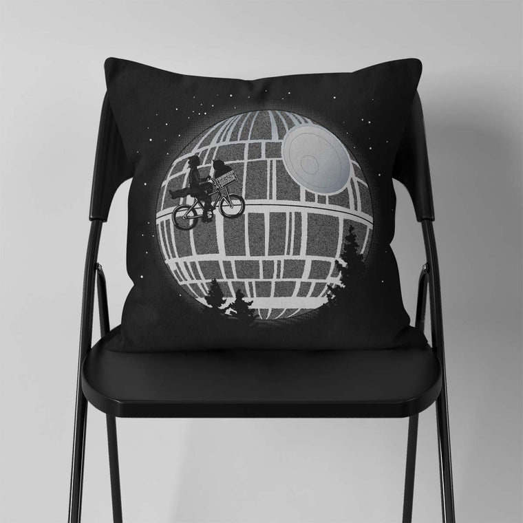 Fly Me To The Death Star Cushion