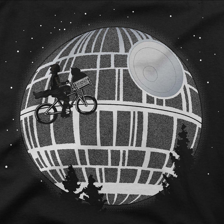 star wars death star womens hoodie