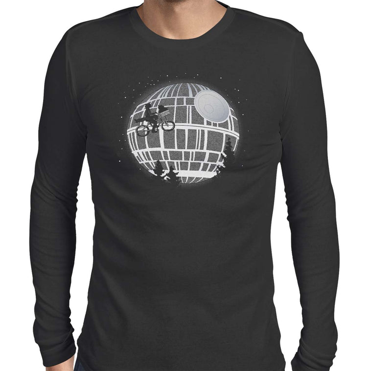 Fly Me To The Death Star Men's Long Sleeve Tee
