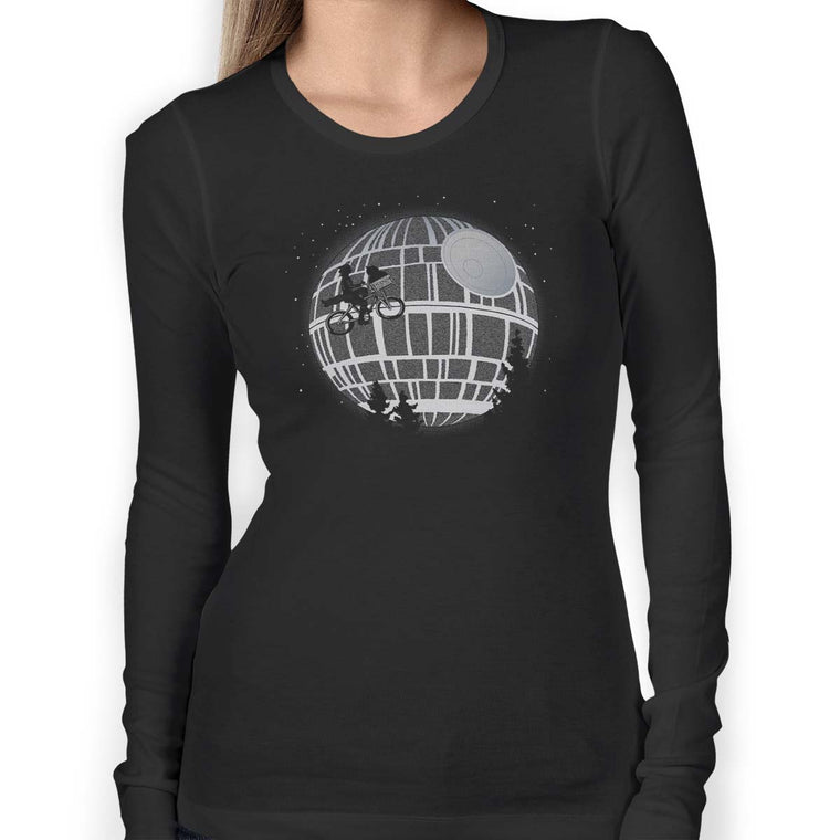 Fly Me To The Death Star Women's Long Sleeve Tee