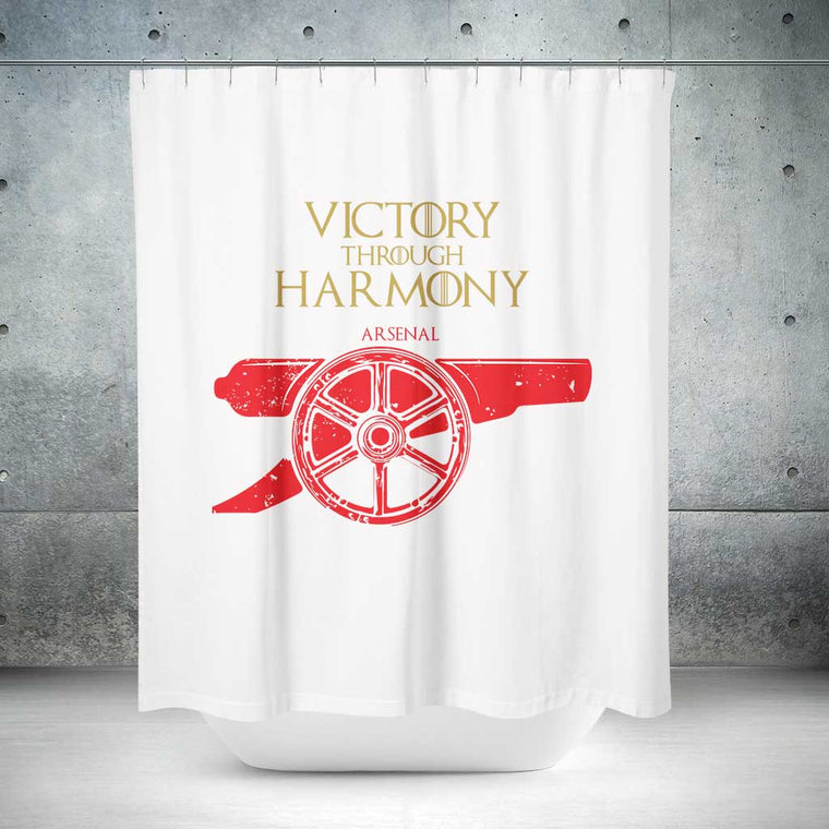 House Arsenal FC Shower Curtain