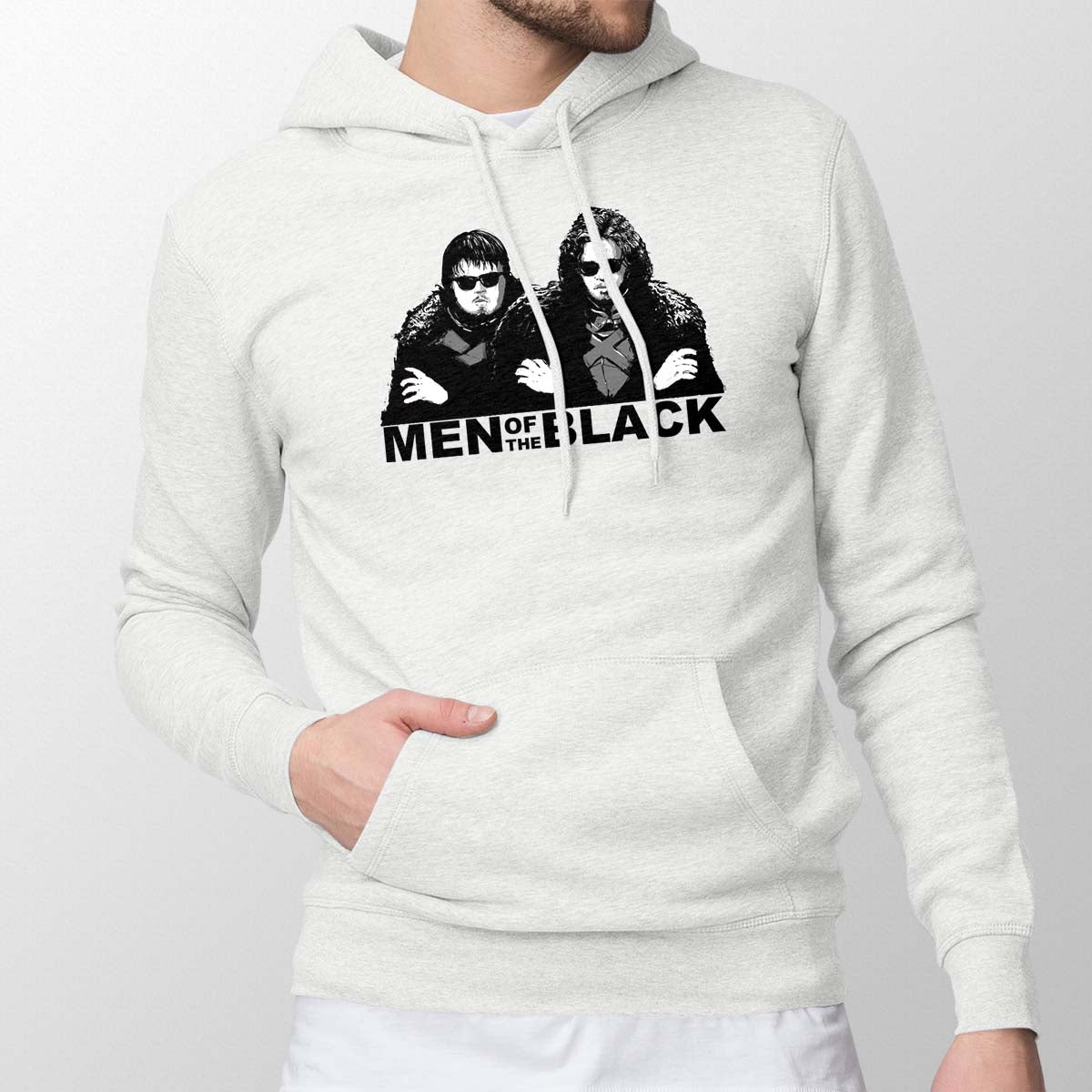 Men of the Black Men's Pullover Hoodie