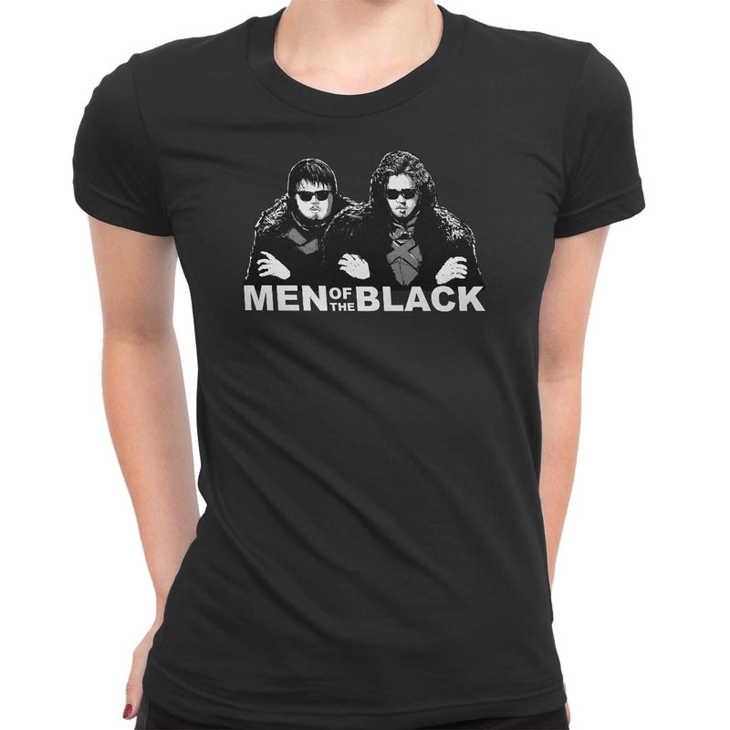 Men of the Black Women's Classic Fitted Tee