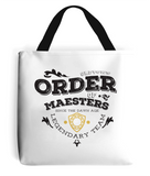 game of thrones order of maesters tote bag white