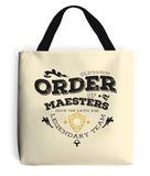 game of thrones order of maesters tote bag natural