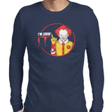pennywise i'm loving in mens tee