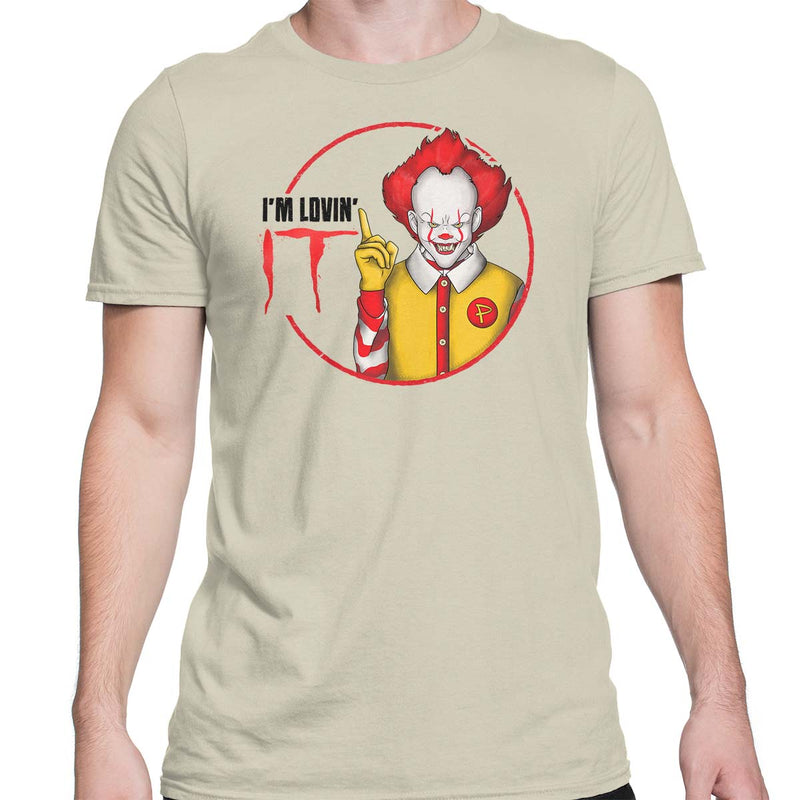 pennywise t-shirt mens natural