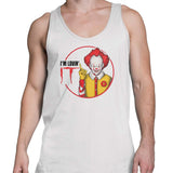 pennywise tank top white