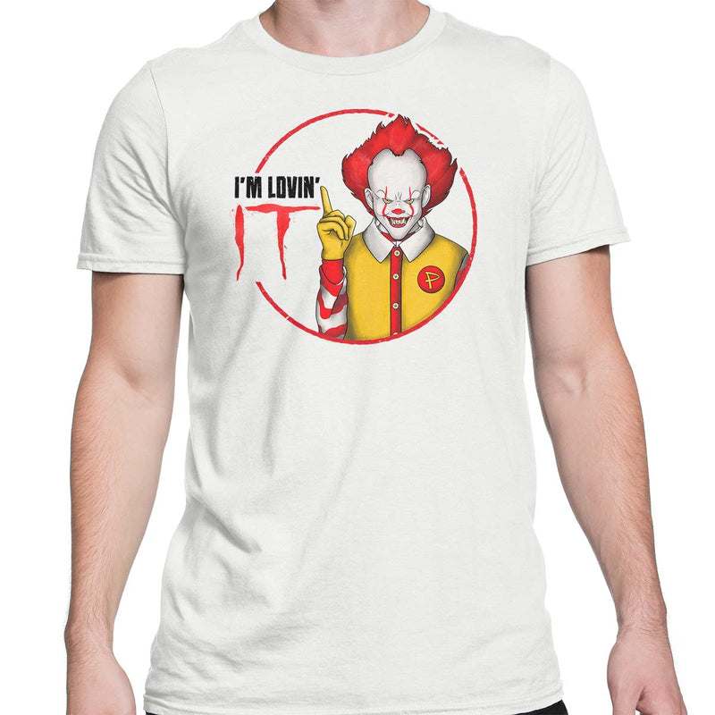 pennywise t-shirt mens white