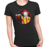 pennywise funny t-shirt black