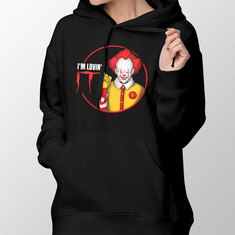 Pennywise I'm Lovin' IT Women's Pullover Hoodie