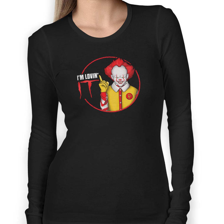 Pennywise I'm Lovin' IT Women's Long Sleeve Tee