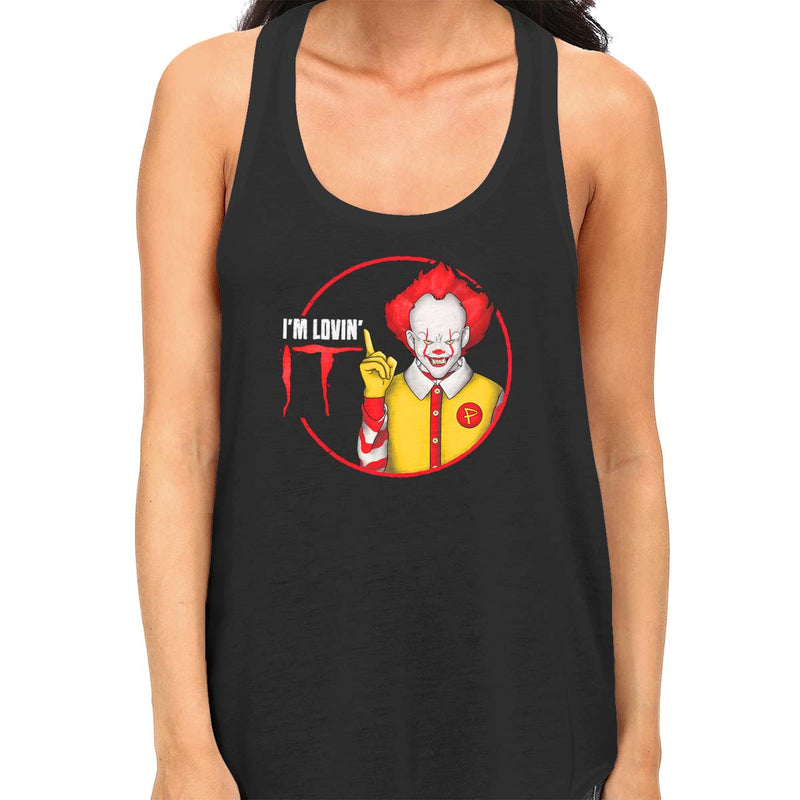 pennywise tank top black