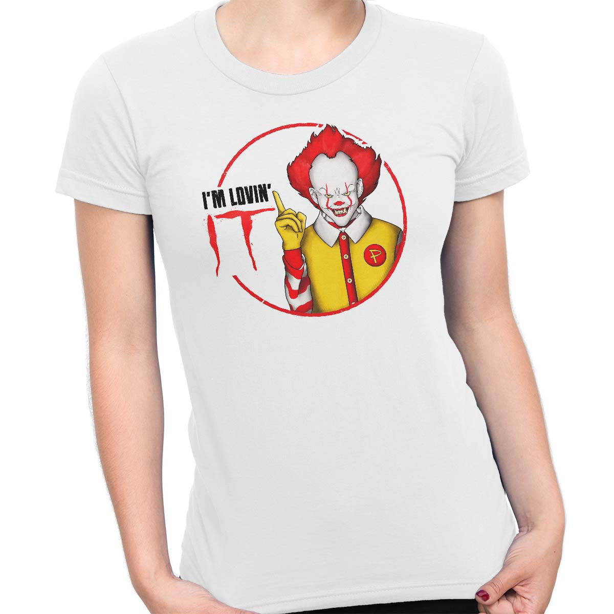 pennywise funny t-shirt white