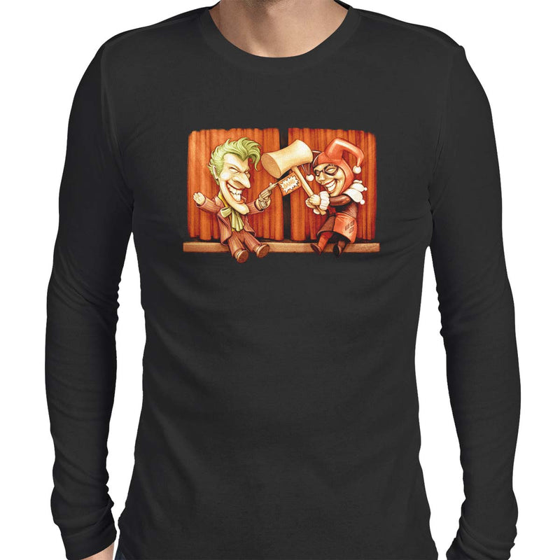 Puddin & Harls Men's Long Sleeve Tee