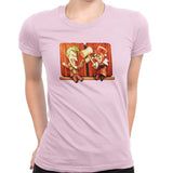 Puddin & Harls Women's Classic Fitted Tee