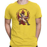 star wars rebel with a cause tshirt yellow