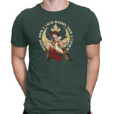 star wars rebel with a cause tshirt green