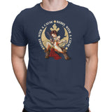 star wars rebel with a cause tshirt navy