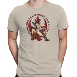 star wars rebel with a cause tshirt beige
