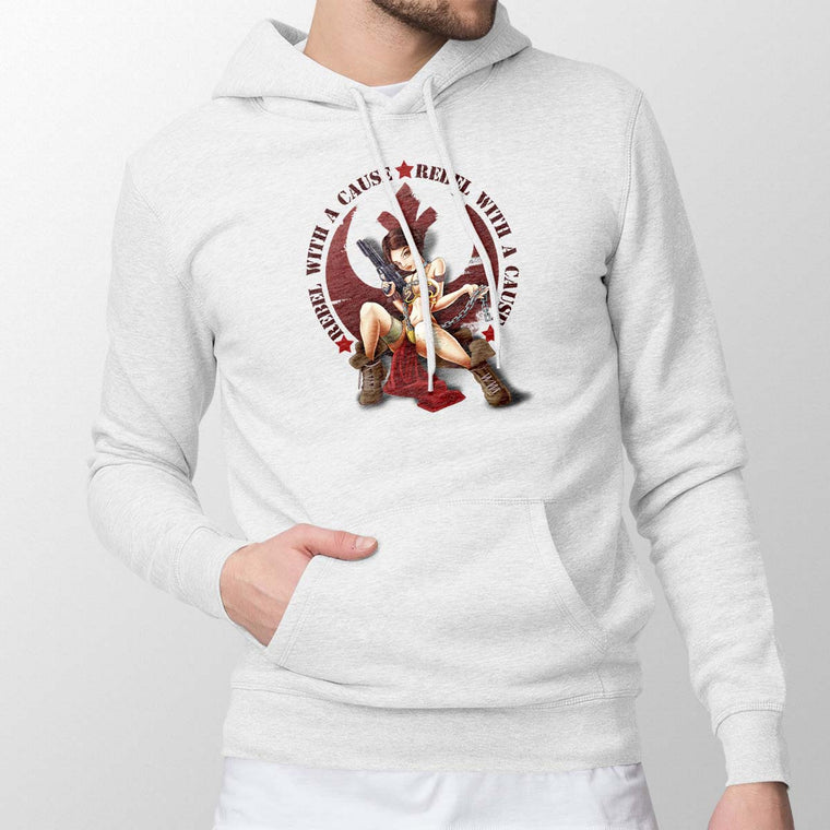 Star Wars Rebel With A Cause Men's Pullover Hoodie
