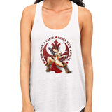 star wars rebel with a cause racerback white