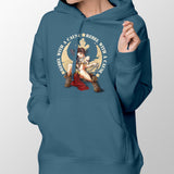 star wars rebel with a cause hoodie blue