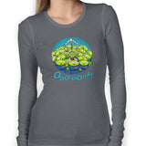 Toy Yoda Women's Long Sleeve Tee