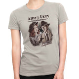 doctor who t-shirt amy & rory women's natural