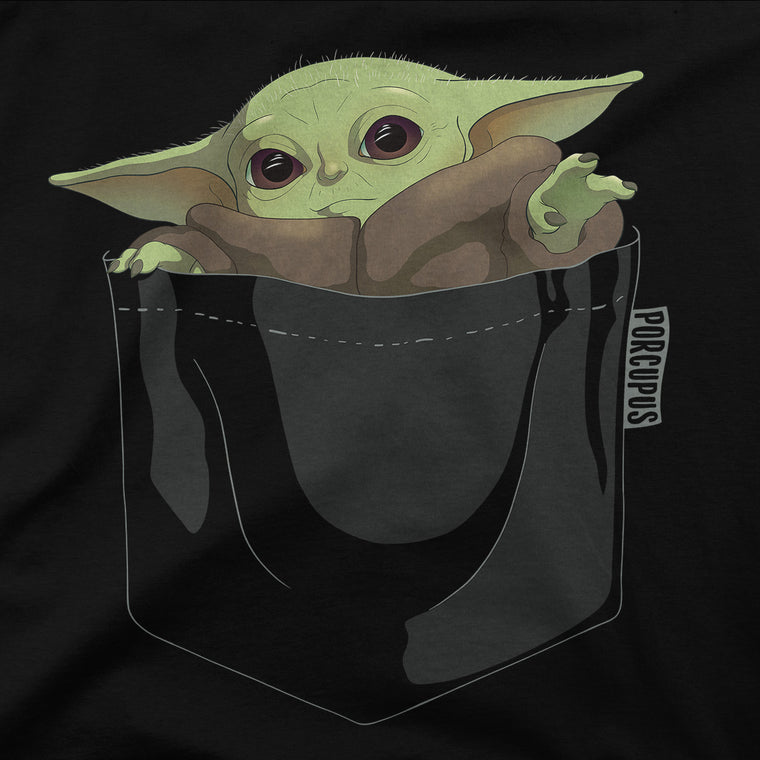Baby Yoda In My Pocket Kids Classic Tee
