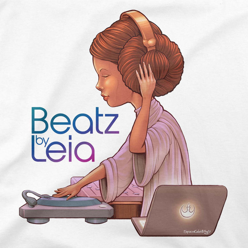 Star Wars Beatz By Leia Tee