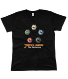 Justice League The Gathering Women's Flowy Tee