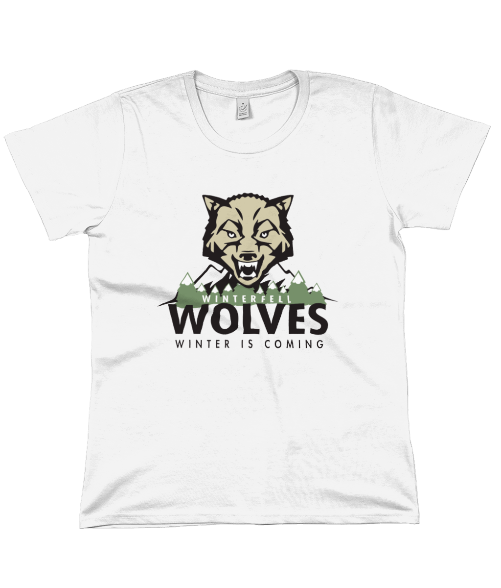 Game of Thrones: Winterfell Wolves Women's Flowy Tee