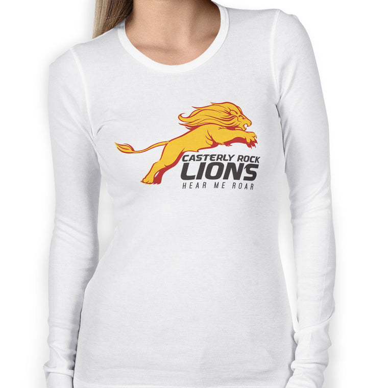 Game of Thrones: Casterly Rock Lions Women's Long Sleeve Tee